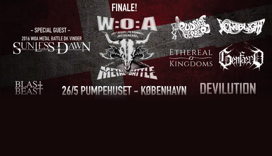 Wacken metal battle finals Denmark 2018 Ethereal Kingdoms Xenoblight