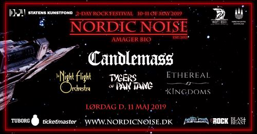 Ethereal kingdoms live nordic noise festival may 11th candlemass concert