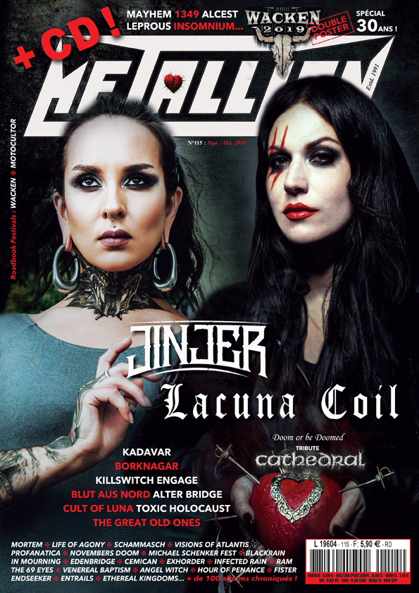 Ethereal Kingdoms is featured on the front page of Metallian, the largest French language metal magazine. Interview about Hollow Mirror inside.