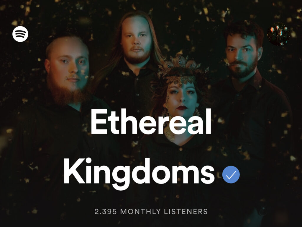Ethereal Kingdoms Hollow Mirror spotify monthly listeners