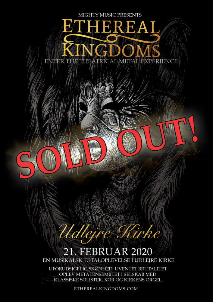 SOLD OUT – Ethereal Kingdoms live at Udlejre Church