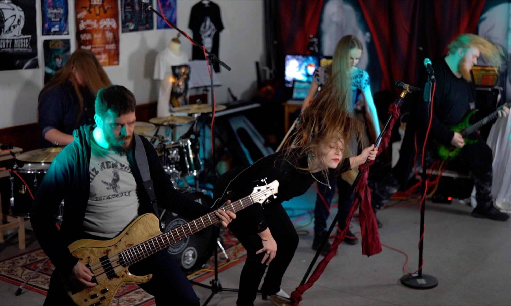 Ethereal Kingdoms beginnings live full band playthrough