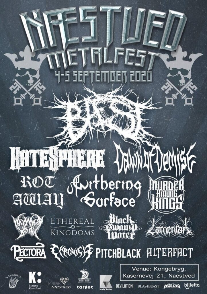 Næstved Metalfest 2020 full lineup