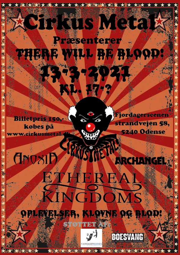 Cirkus Metal – There Will Be Blood